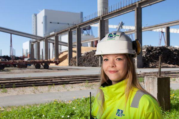 Oy Alholmens Kraft in Pietarsaari, Finland