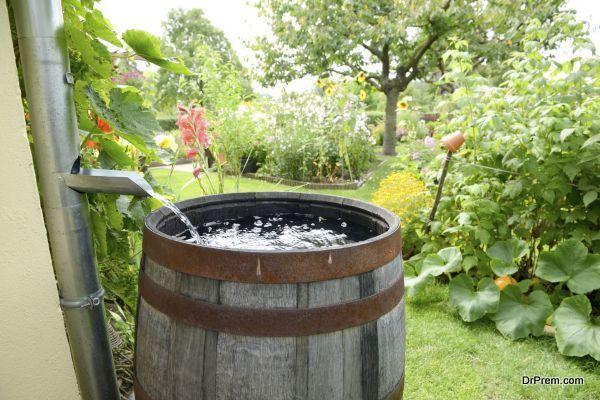 rainwater to be reused