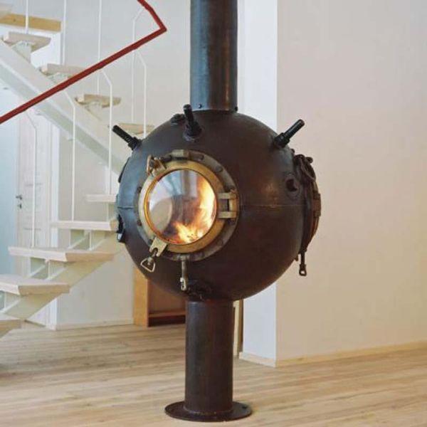 Spherical Fireplace