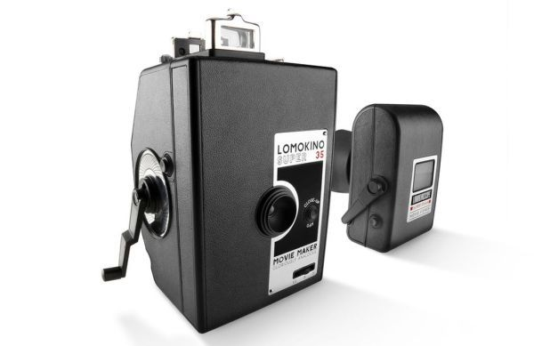The Lomokino Super 35 the hand cranked movie camera