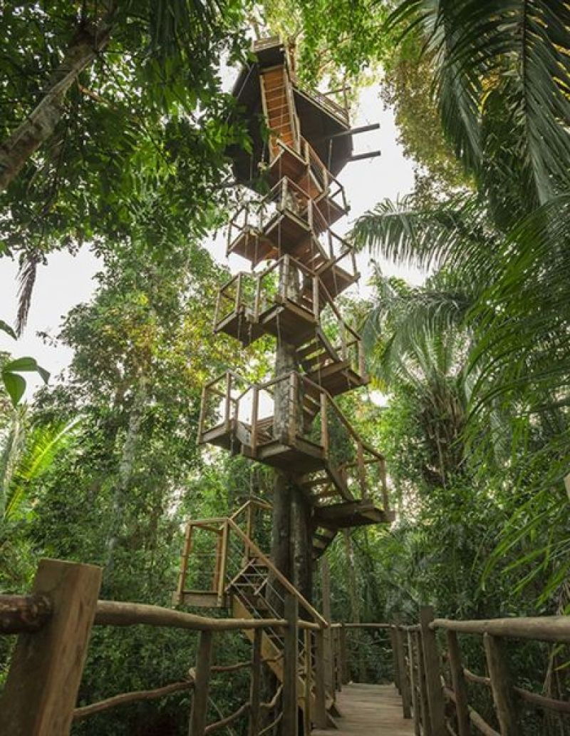 TREEHOUSE LODGE ,PERU