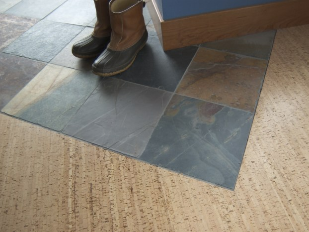 Use Slate tiles for your entry