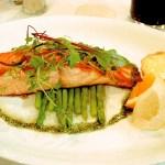 salmon is good for leptin hormone