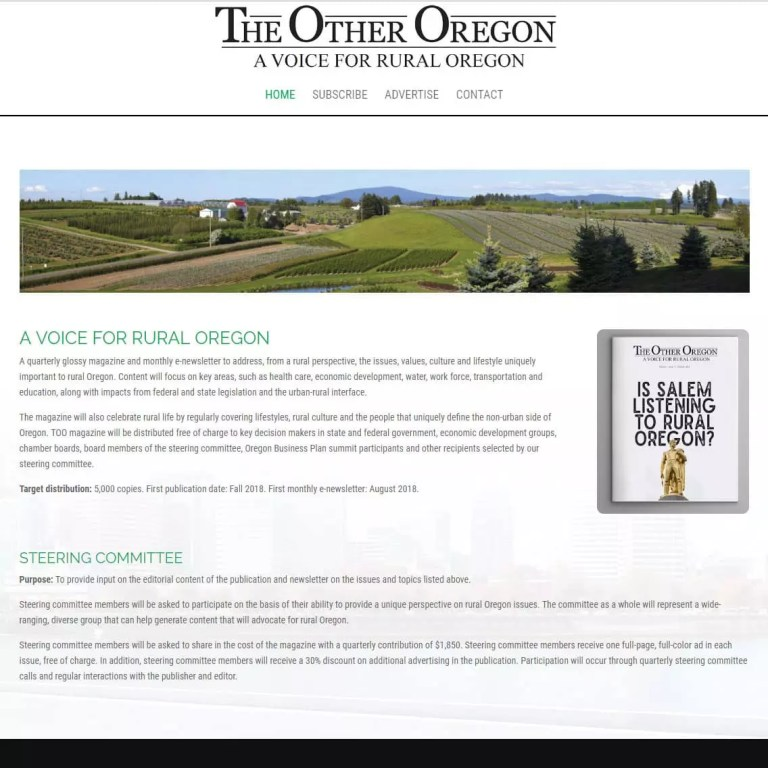 The Other Oregon Website
