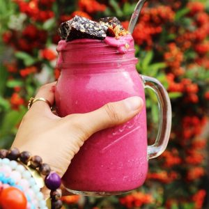 Strawberry Coconut Cream Smoothie