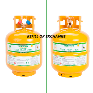 LP-20 | ISOBUTANE | R600A | TANK REFILL or EXCHANGE