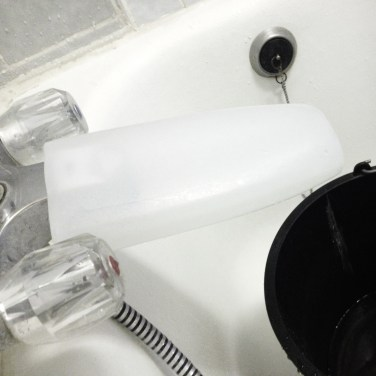 You have an extended tap / faucet!