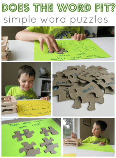 Reusing puzzle pieces | ecogreenlove