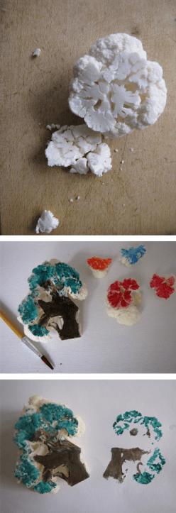 DIY Upcycled Custom Stamps | ecogreenlove