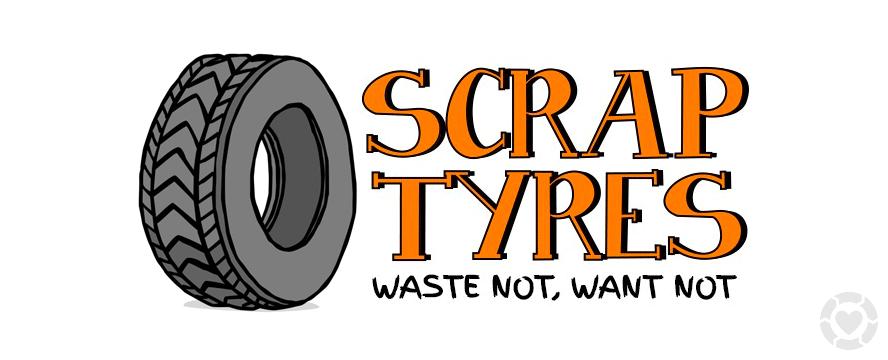 Waste Not: Scrap Tyres [Infographic]