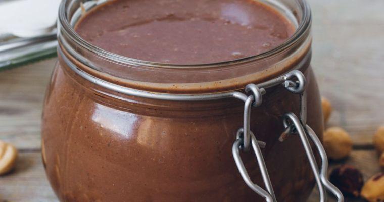 Nutella casera sin azúcar