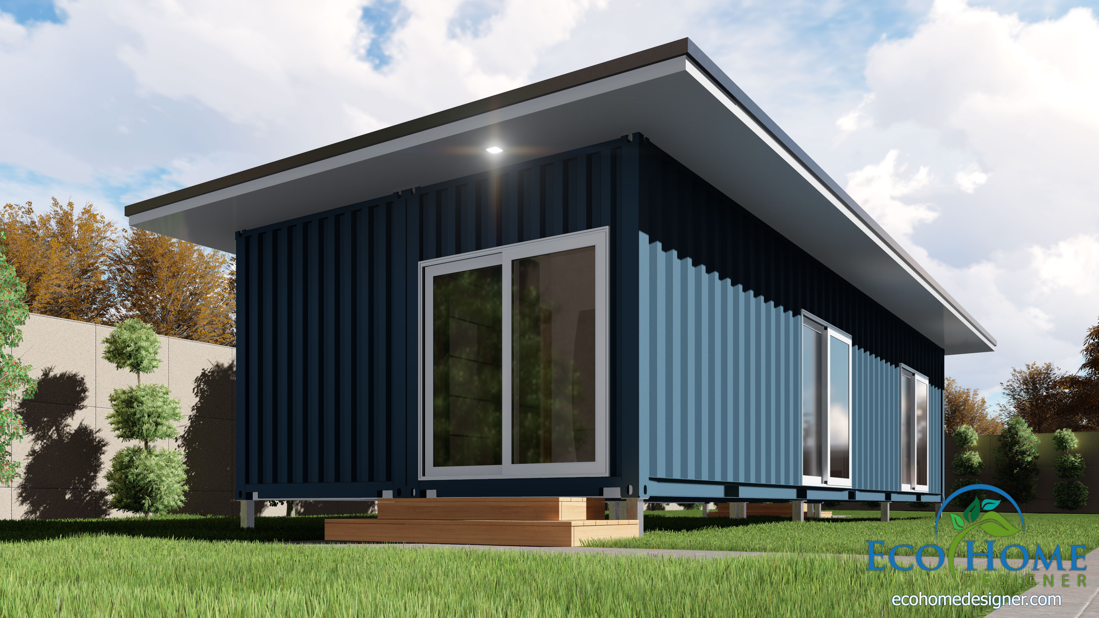 SCH2 2 X 40ft Single Bedroom Container Home Eco Home