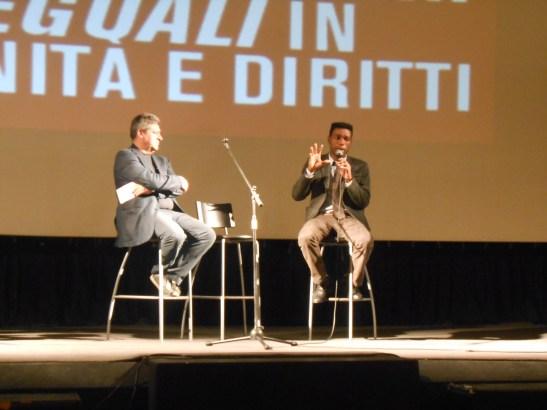 Enzo D'Antuono e Yvan Sagnet