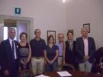 Firma contratto  Cruyff Court-Borgonovo