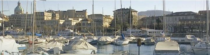 Posti barca temporanei a Como