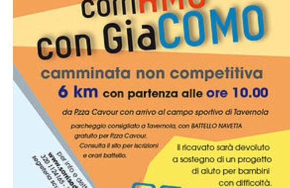 12 ottobre/ corriAMO con GiaCOMO