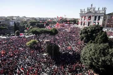 Un milione a Roma per diritti e lavoro