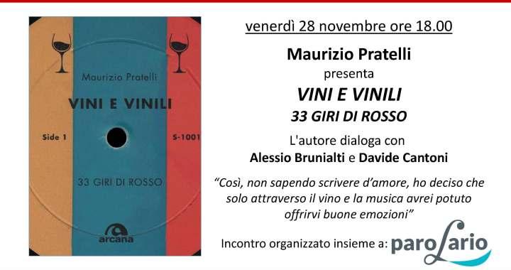 28 novembre/ Vini e vinili 33 giri di rosso