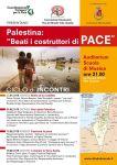 palestina costruttori pace