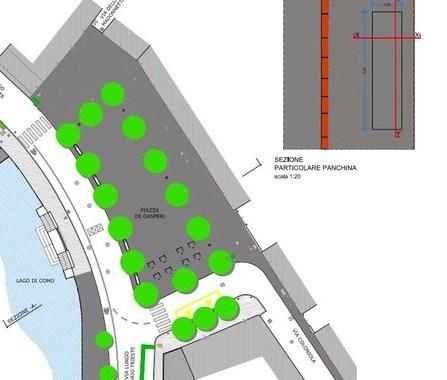 Da metà marzo lavori in piazza De Gasperi e viale Geno