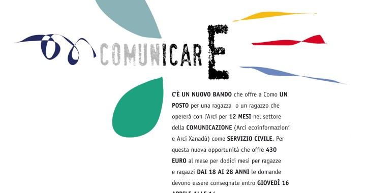 Spot/ Un anno di Servizio civile all'Arci di Como per Comunicare