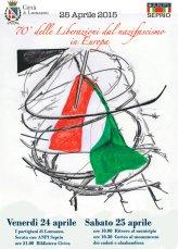 Lomazzo/ Giannangeli: Ora e sempre Resistenza