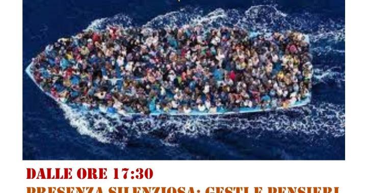 28 aprile/ Cercavano la felicità…/  Basta stragi di migranti in mare