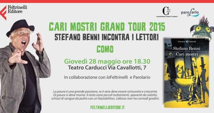 28 maggio/ Cari mostri: Stefano Benni si dà all'horror!