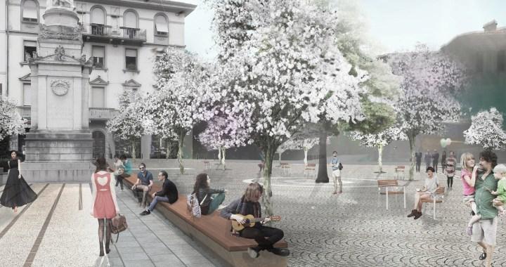 Piazza Volta – via Garibaldi