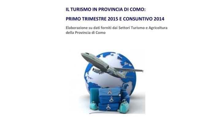 Turismo: positivo l'inizio del 2015 in provincia di Como