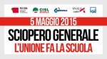 Sciopero generale unitario scuola 5 maggio 2015-2