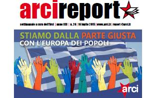 Arci report con la Grecia