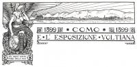 22 luglio/ 1899 Como e l'Esposizione voltiana