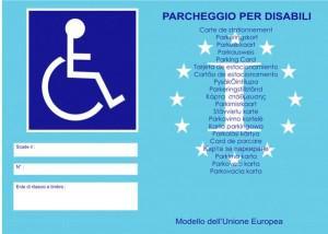 Cambia il contrassegno disabili