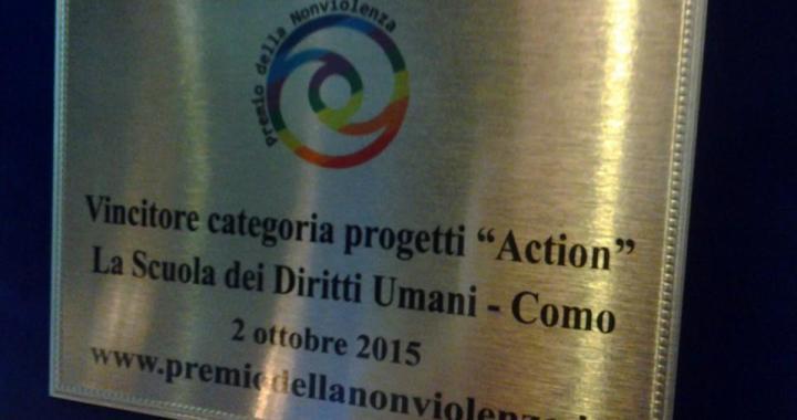 CcP/ Alla Scuola Diritti umani il premio della nonviolenza