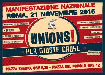 21 novembre/ La Fiom manifesta a Roma/ Un pullman anche da Como