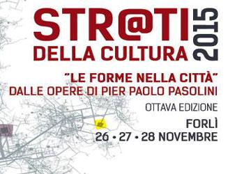 26-28 novembre/ L'Arci a Forlì con Strati della cultura