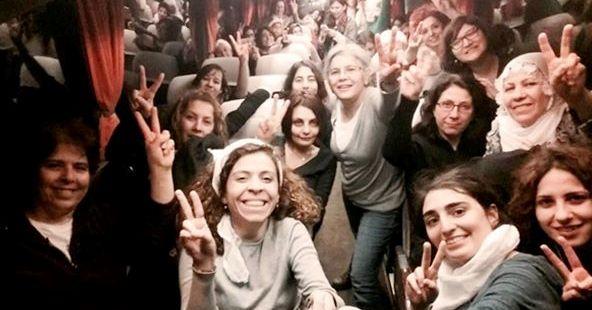 18 marzo/ Menaggio/ Una donna turca e una  kurda parlano di Pace e futuro