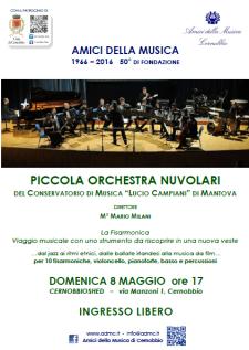 Orchestra nuvolari locandina