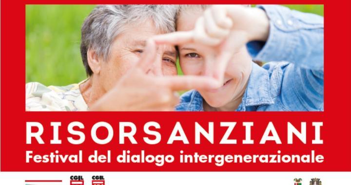23, 25, 26, 27 maggio/ Risorsanziani, festival del dialogo intergenerazionale
