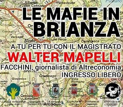 27 ottobre/ Quarto colpo alla 'ndrangheta con Walter Mapelli