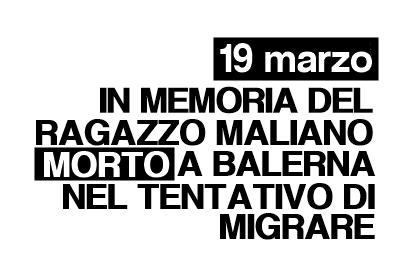 19 marzo/ In memoria del ragazzo ucciso dalla frontiera