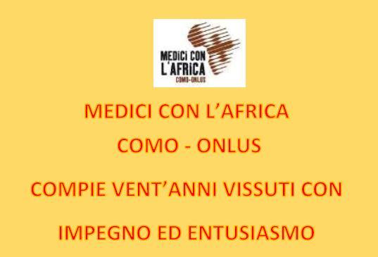 24 marzo/ 20 anni di Medici con l'Africa