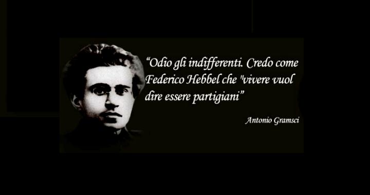 25 aprile/ Andrée Cesareo/ Liberare con Gramsci le nuove generazioni dall'indifferenza