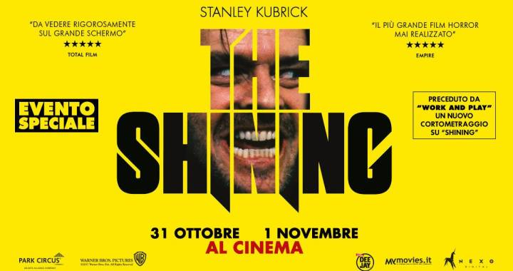 "31 ottobre e 1 novembre/ ""Shining"""