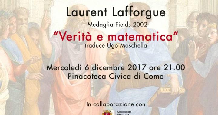 6 dicembre/ Verità e matematica. Incontro pubblico con Laurent Lafforgue