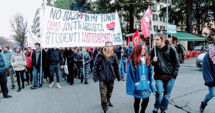 """""""No Nazi in my Town"""": studenti di Como (e non solo) contro il nazifascismo"""