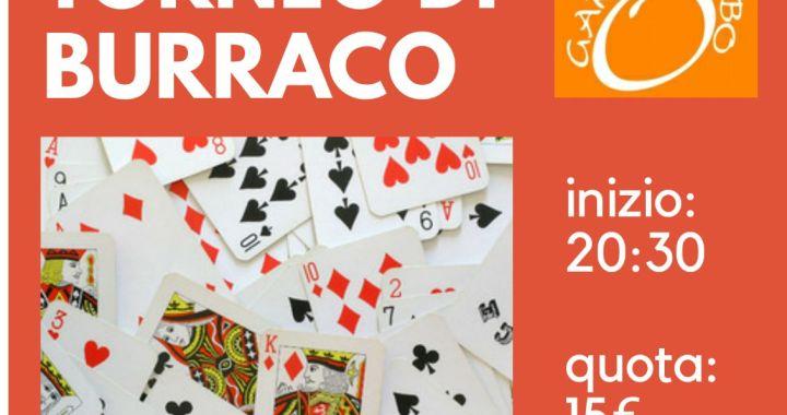 9 gennaio/ Torneo di burraco per Garabombo