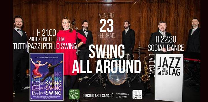 "23 febbraio/ ""Swing all around"""