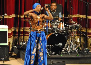 L'energia dell'Africa e di Fatou in concerto a Como
